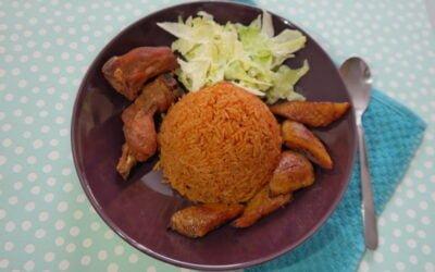 Jollof rice (djollof rijst)