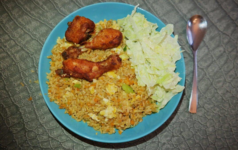 Fried Rice (Ghana style)